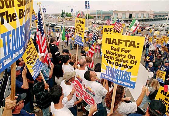 NAFTA-protest